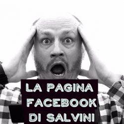 La pagina Facebook di Salvini