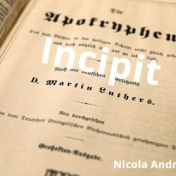 Incipit Nicola Web Writer